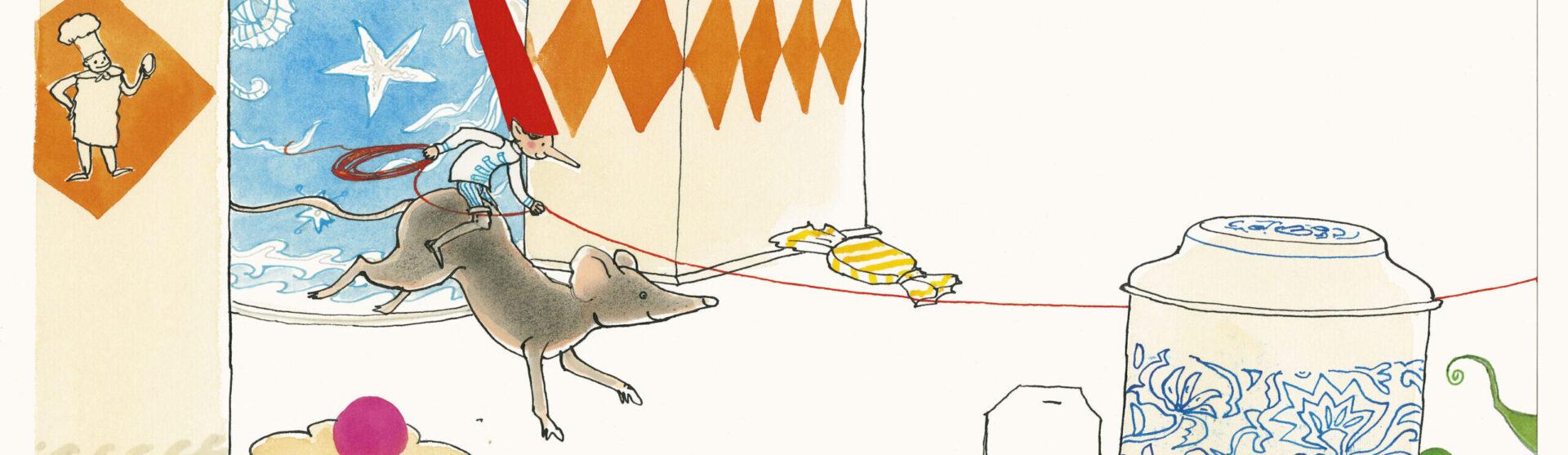 Illustratie Ossip en muis