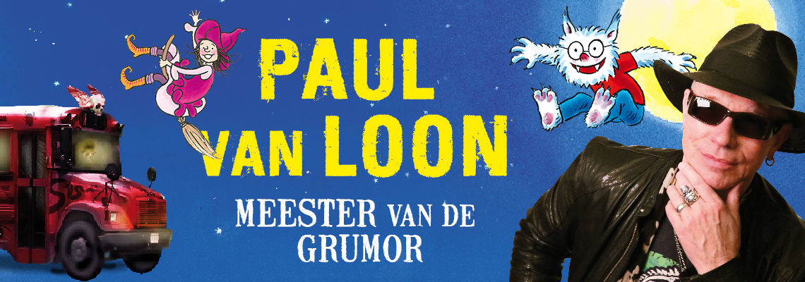 Banner Paul van Loon Auteur