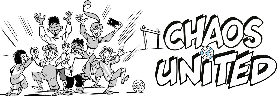Chaos United breekt door! - Rudi Jonker, Gerard van Gemert
