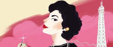 Coco Chanel uit Heldinnen - Janny van der Molen