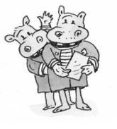 De Zusjes Nijlpaard - Terry Denton