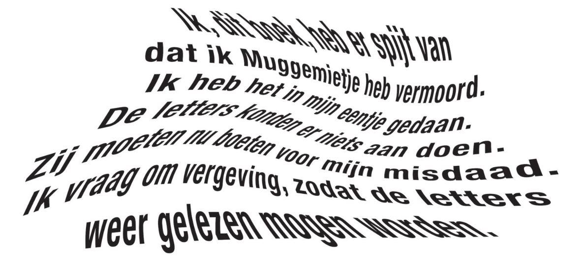 De gemene moord op Muggemietje - Ted van Lieshout