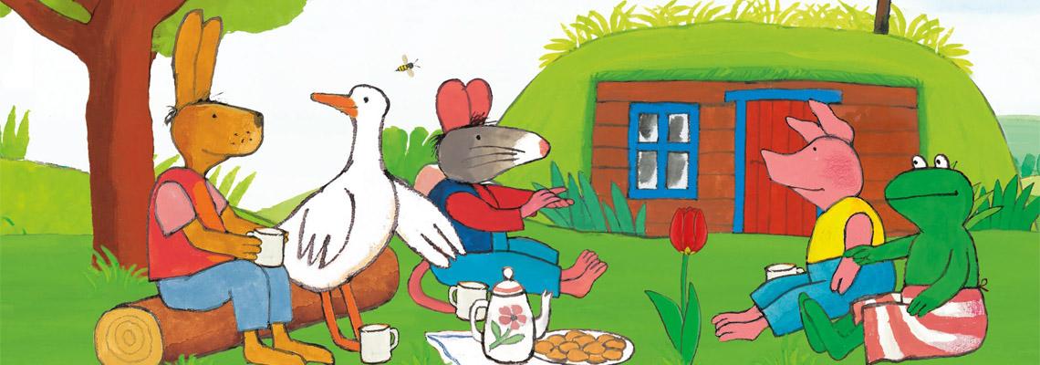 Een verrassing voor Kikker - Max Velthuijs