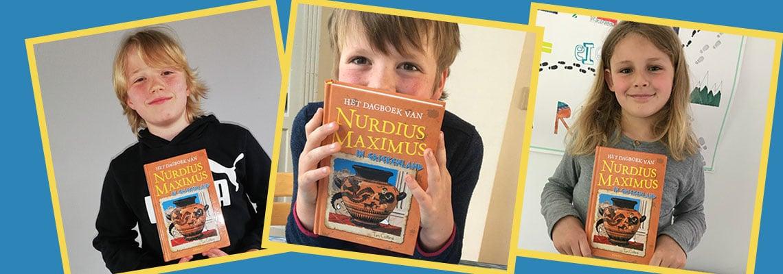 Ons Kinderpanel over 'Het dagboek van Nurdius Maximus in Griekenland'