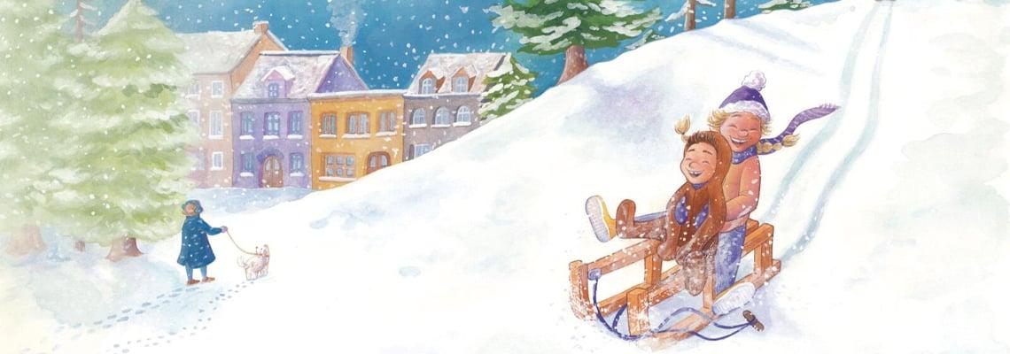 Boeken om de winter mee door te komen