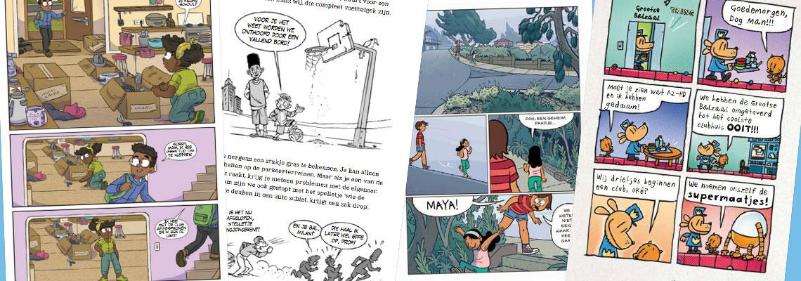 Graphic Novels - boeken met extra beeld