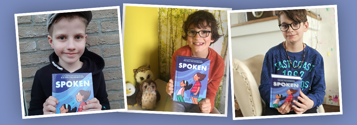 Het kinderpanel over 'Spoken'