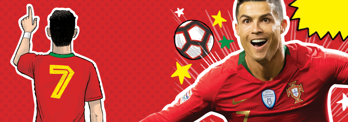 Voetbalhelden – Ronaldo is de beste Simon Mugford, Dan Green