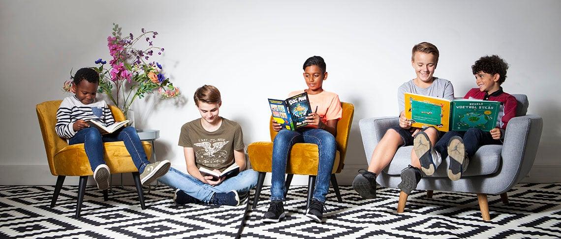 Lekker doorlezen met serieboeken