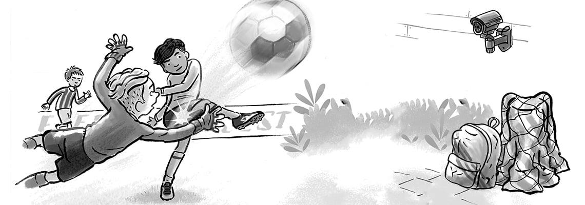 Het geheim van de voetbalheld - Gerard van Gemert, Ivan & ilia