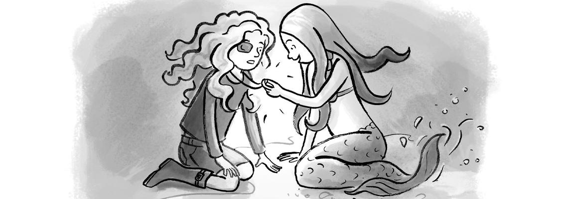 Het geheim van de zeemeermin - Annet Jacobs, Saskia Halfmouw, Ivan & ilia
