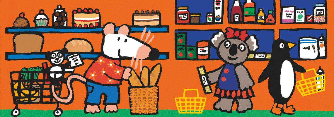 Het winkeltje van Muis - Lucy Cousins