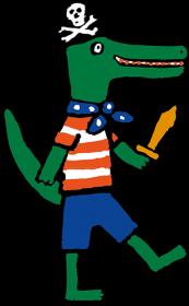 Kees Krokodil - Lucy Cousins
