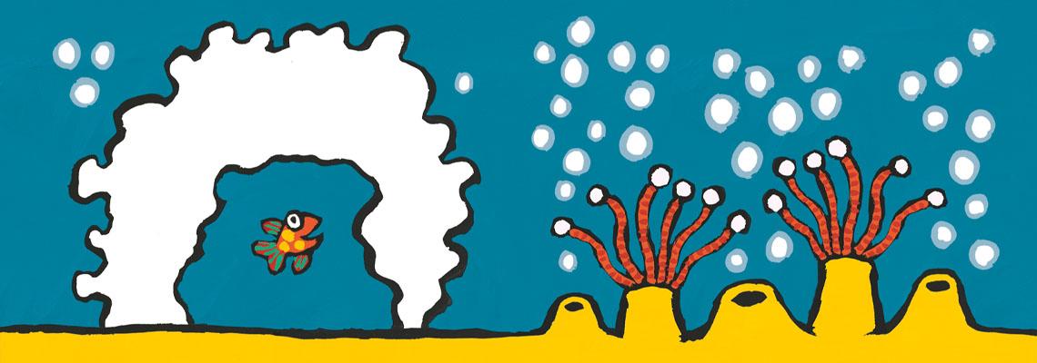 Kleine Vis ziet alle kleuren - Lucy Cousins