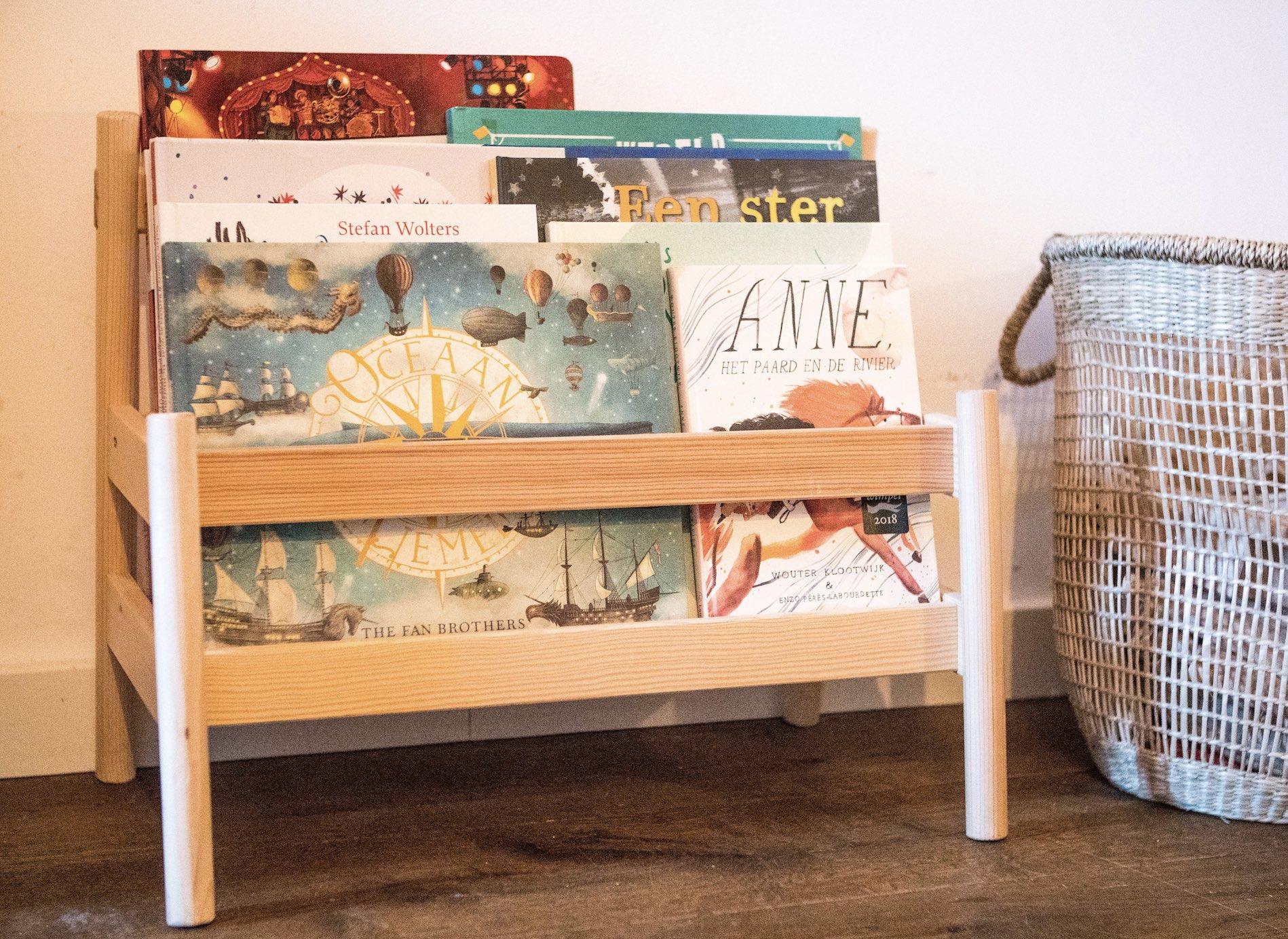 Een kamer vol kinderboeken: tips om je boeken leuk neer te zetten