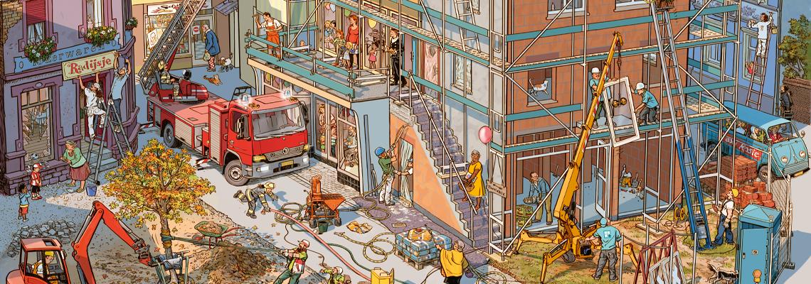 Op de bouwplaats - Doro Göbel, Peter Knorr
