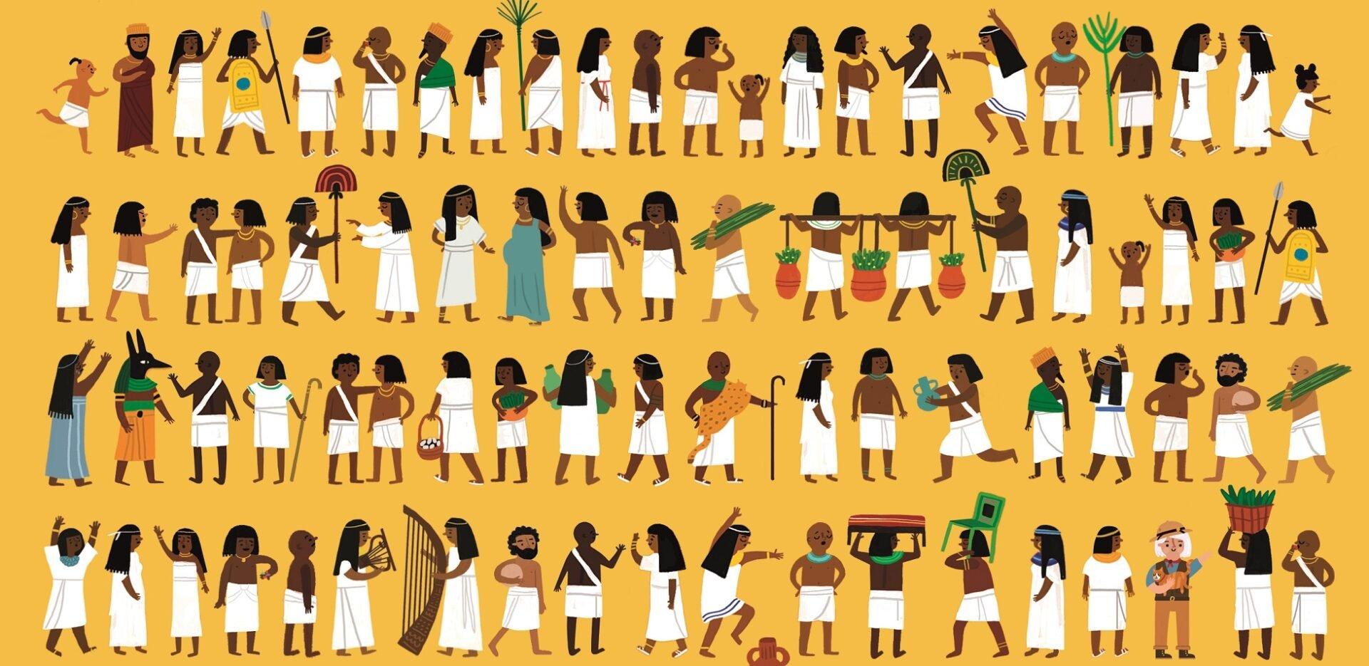 Op zoek naar Tom in het oude Egypte - Fatti Burke
