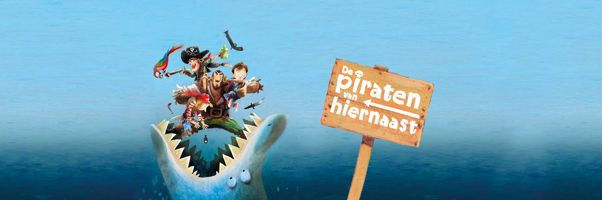 Piraten van hiernaast - Reggie Naus - Mark Janssen