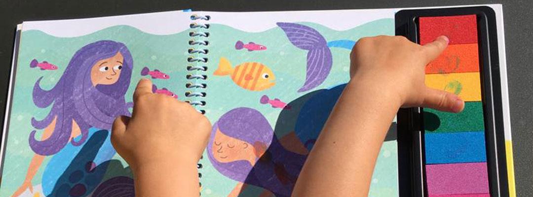 Stempelen met je vingers: de leukste stempelboeken