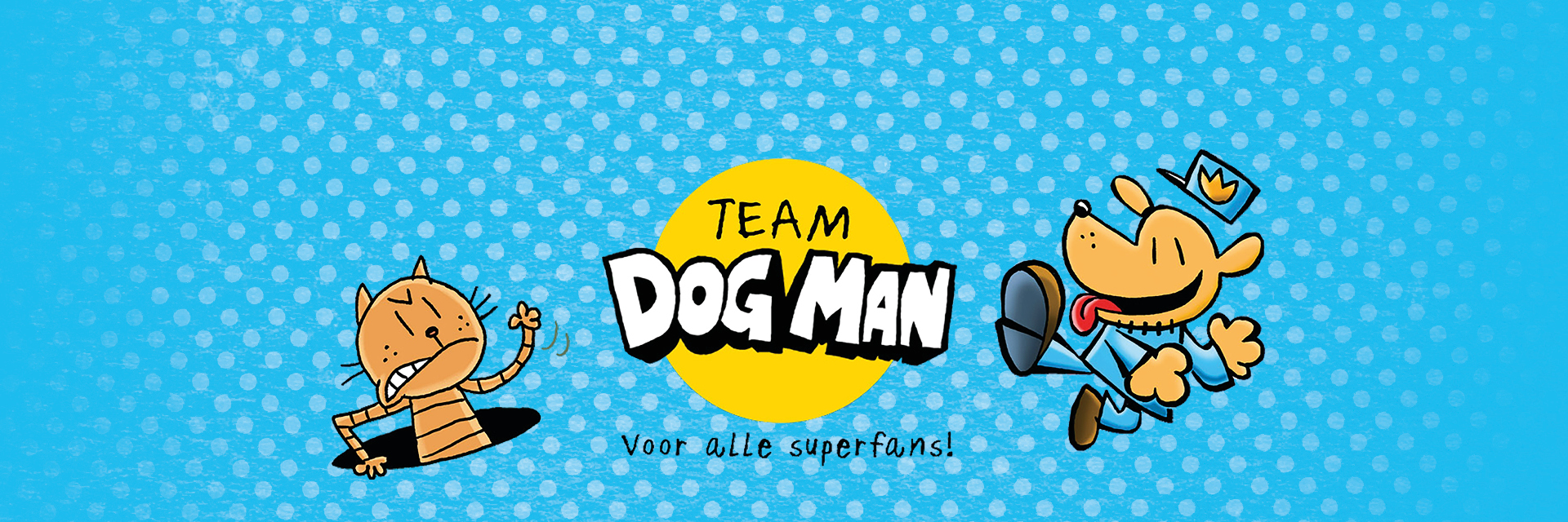 Team Dog Man - Dav Pilkey