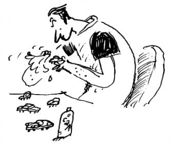 Vader - De regels van Floor - Marjon Hoffman - Georgien Overwater