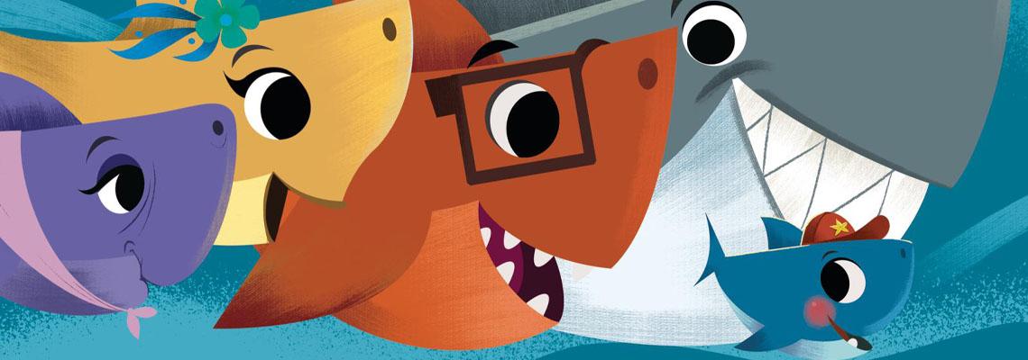 Verstoppertje met Baby Shark - John John Bajet