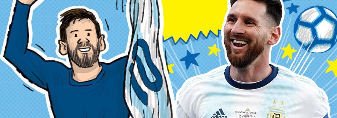 Voetbalhelden – Messi is de beste - Simon Mugford, Dan Green