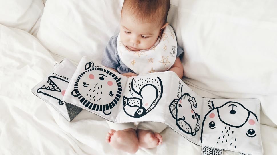 Zwart-wit boekjes voor baby's: altijd een succes