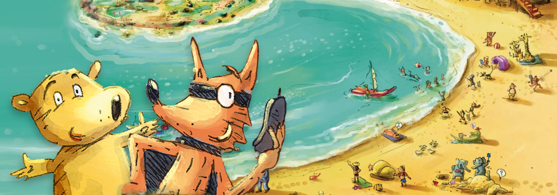 Wombat & Vos vieren vakantie - Terry Denton