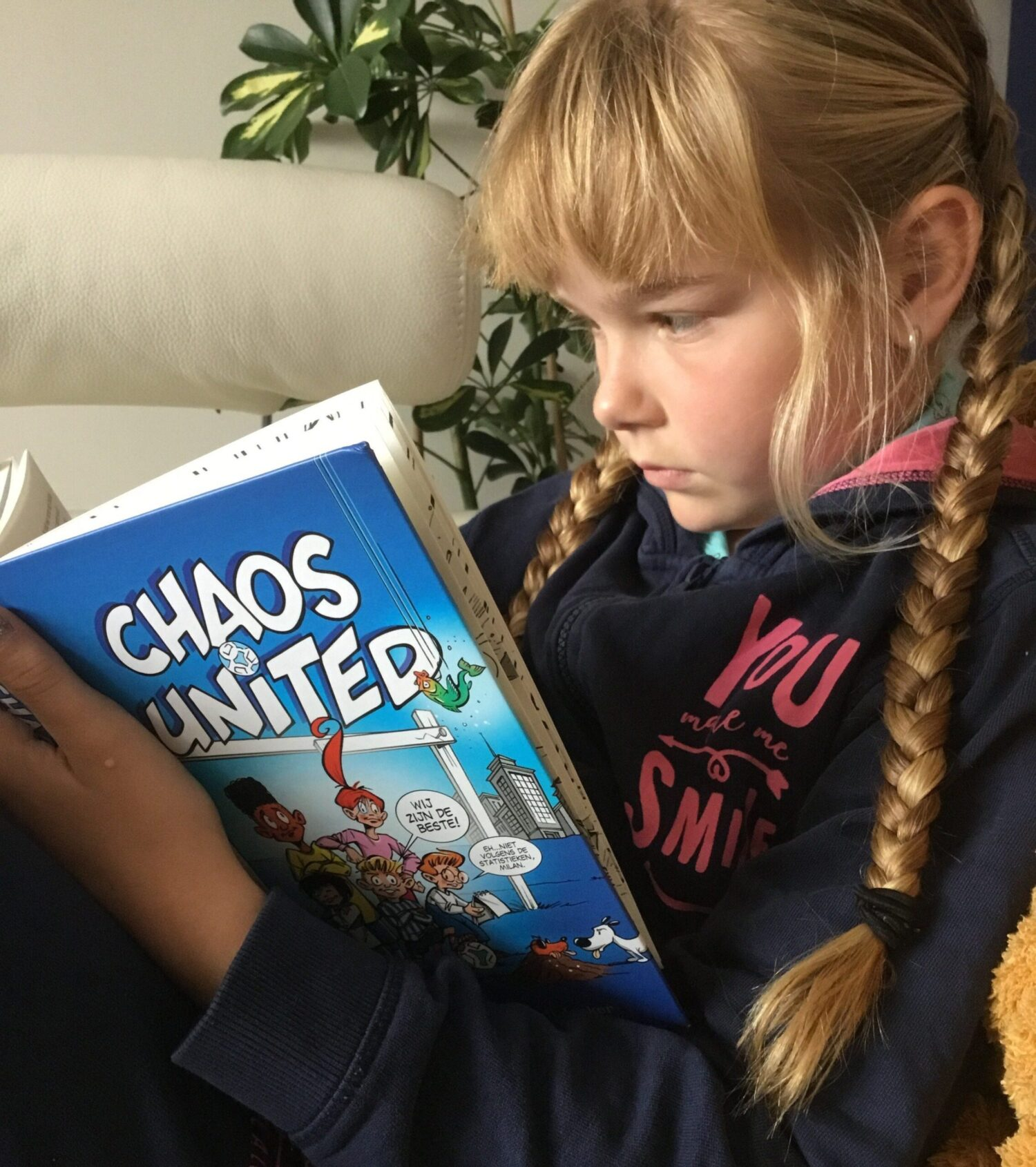 Kinderpanel - review - Chaos United - Gerard van Gemert en Rudi Jonker