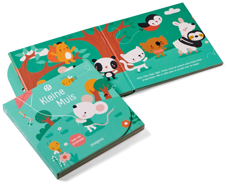 BORA Kleine Muis - Boek met groeimeter - Deborah van de Leijgraaf