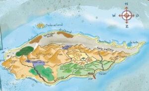 Drakeneiland - Lydia Rood