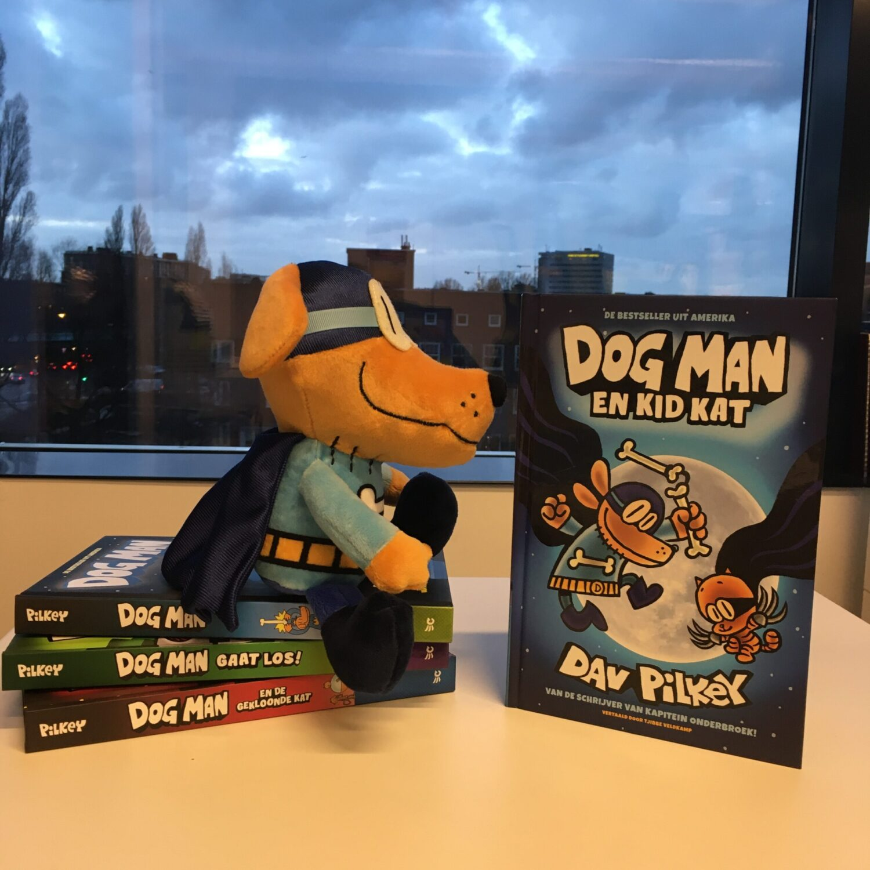 Dog Man Kid Kat 4 boeken