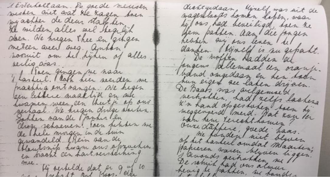 Het dagboek van Henk (18) uit de Achterhoek - Oorlog in inkt