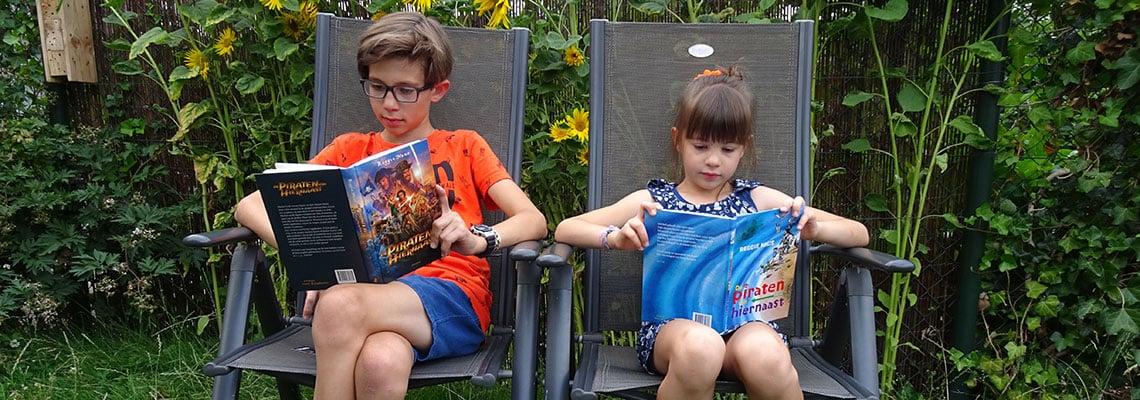 Kinderen genieten volop van 'De piraten van hiernaast'
