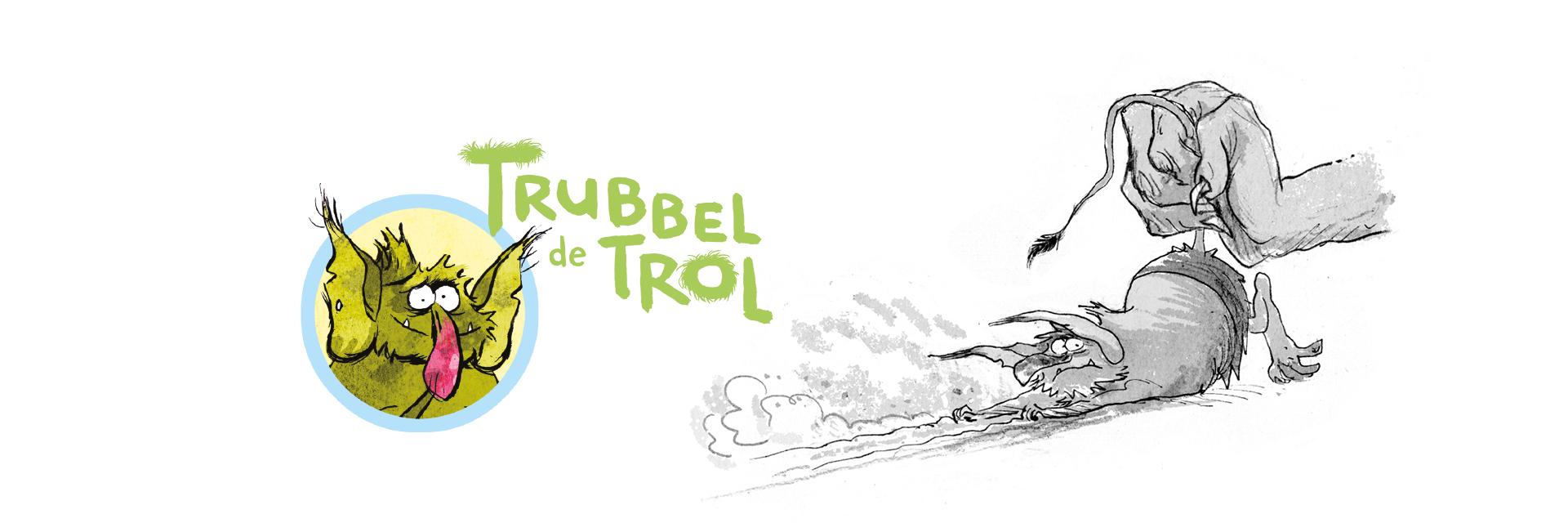 Trubbel de trol - Reggie Naus - Kees de Boer