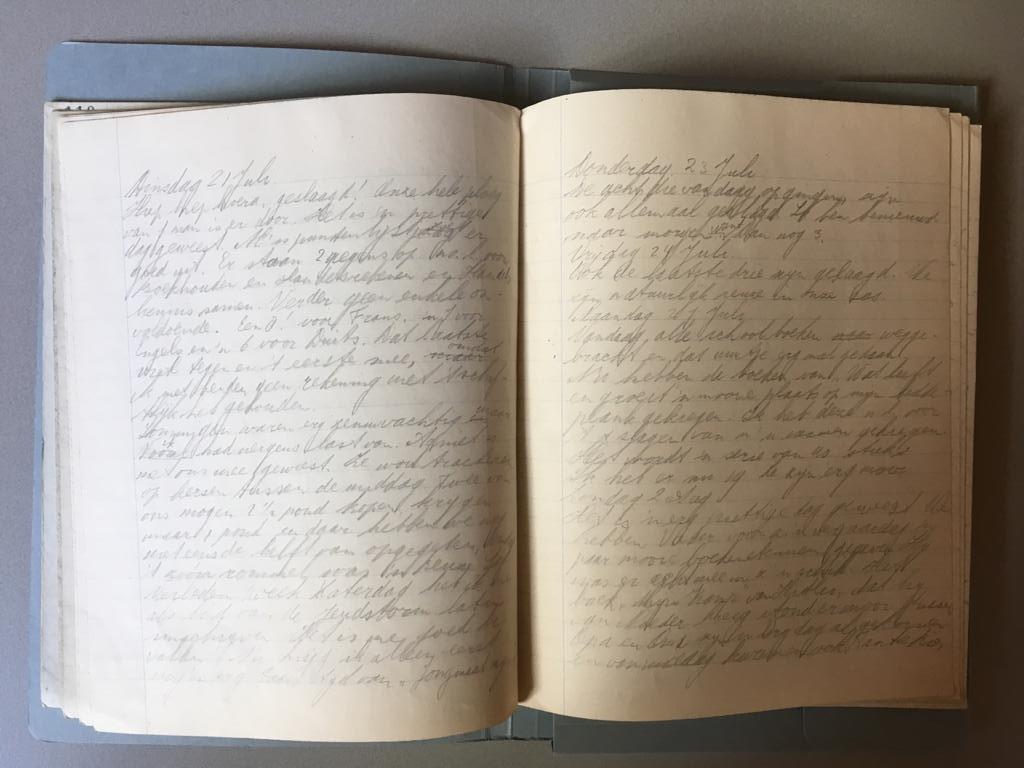Annies dagboek Wildzang - Oorlog in inkt