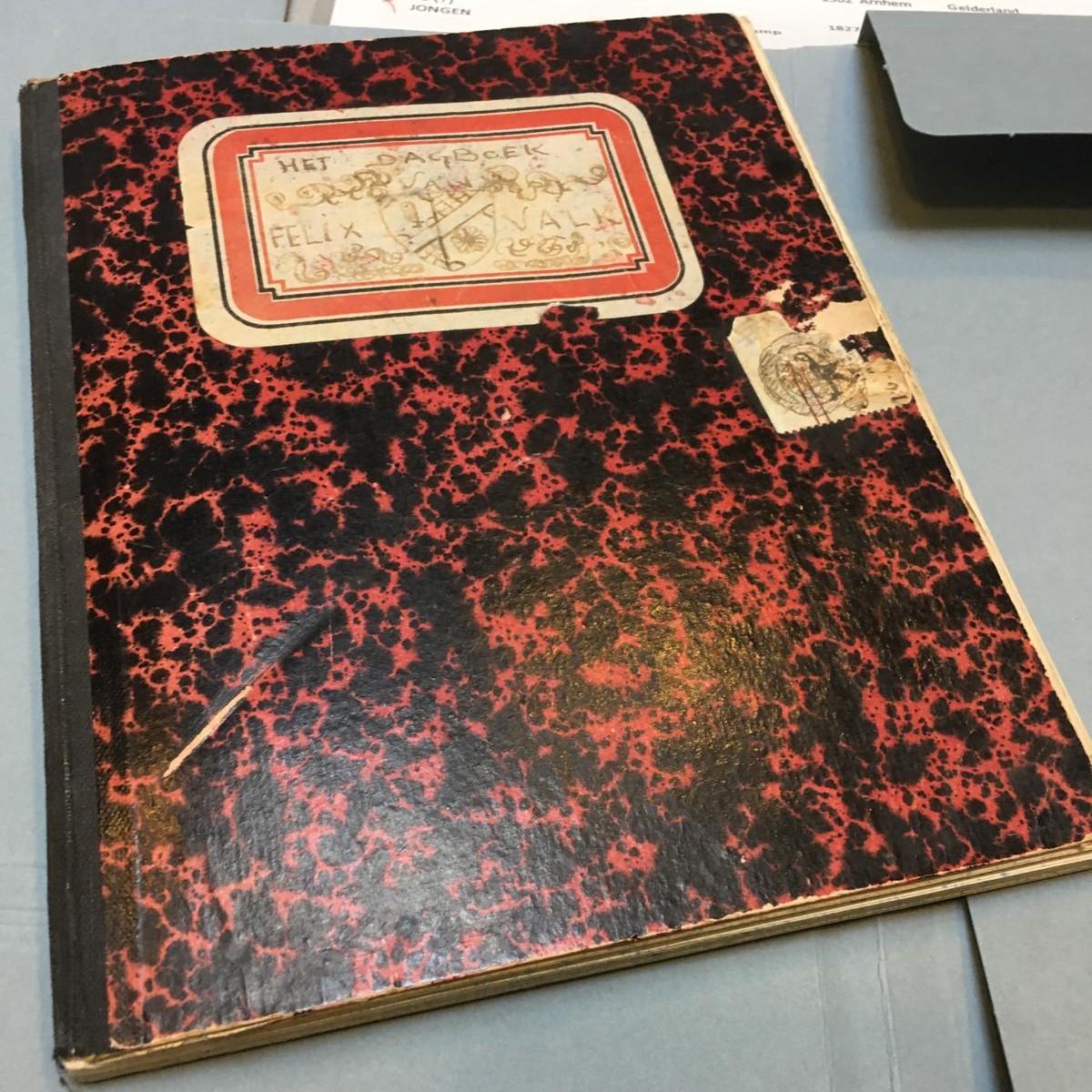 Het dagboek van Felix Valk - Oorlog in inkt