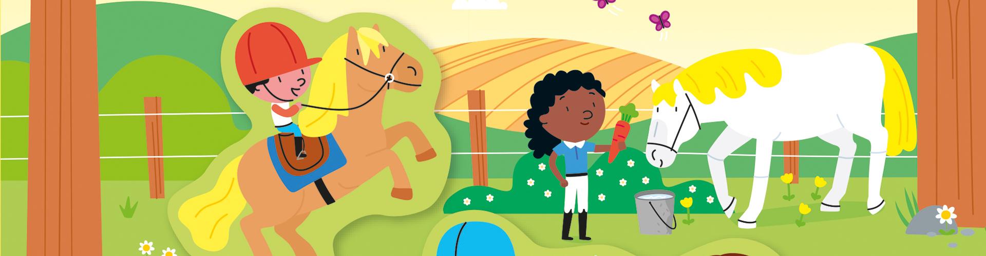 Paarden-en-ponys-stickerboekje