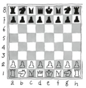 Schaakbord - Annemarie van Haeringen - Lang leve de koningin