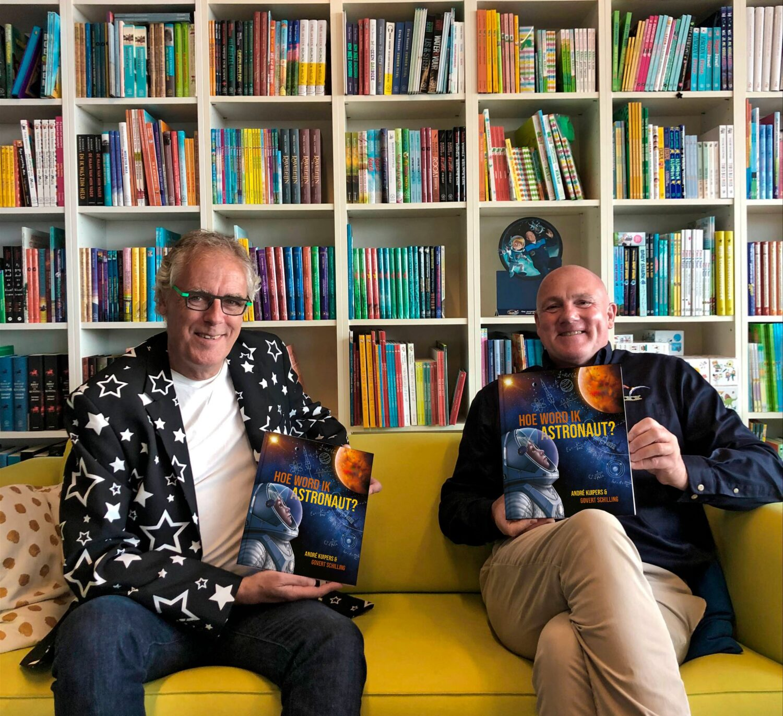 André Kuipers en Govert Schilling met 'Hoe word ik astronaut'