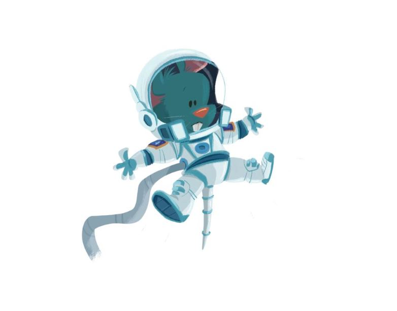 Muis - De kleine astronauten
