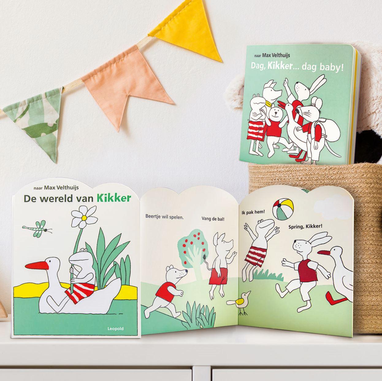 Babyboeken Kikker