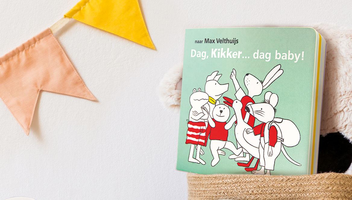 Kikker Baby - Max Velthuijs