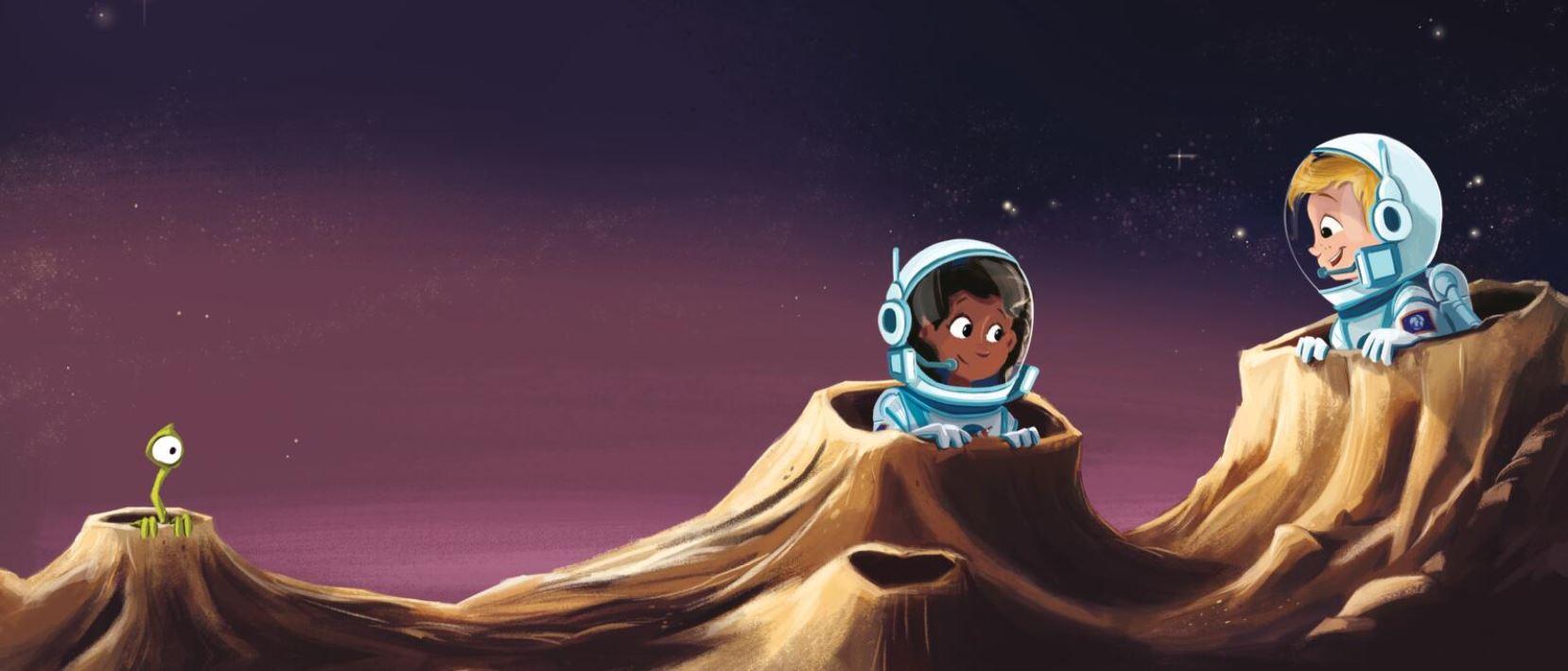 De kleine astronauten - doeboek