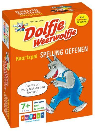 Kaartspel Spelling oefenen